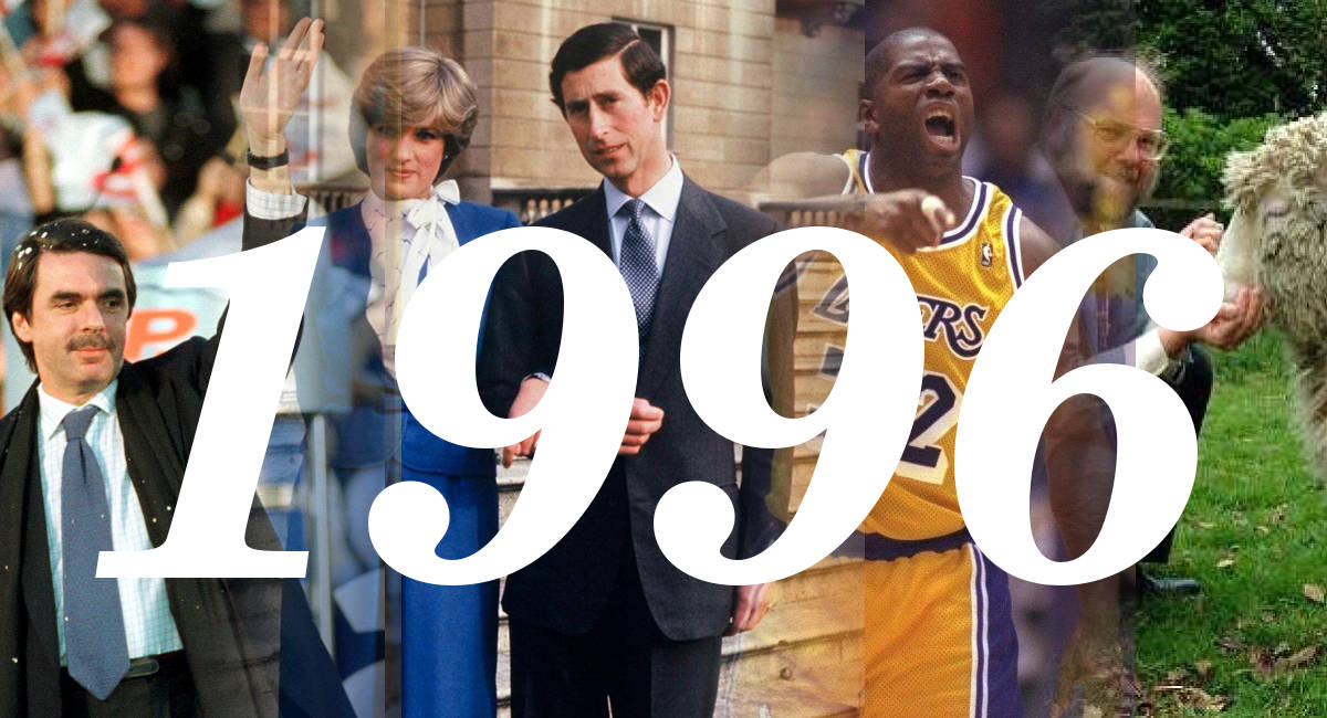 El Mundo en 1996